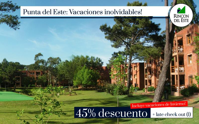 Punta del Este 45% OFF + Late Check Out!