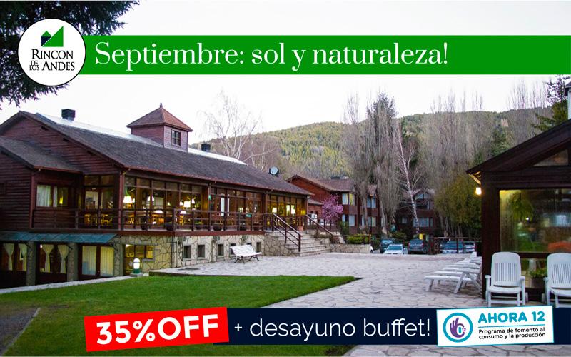 Promo Septiembre en San Martín de los Andes 35% OFF