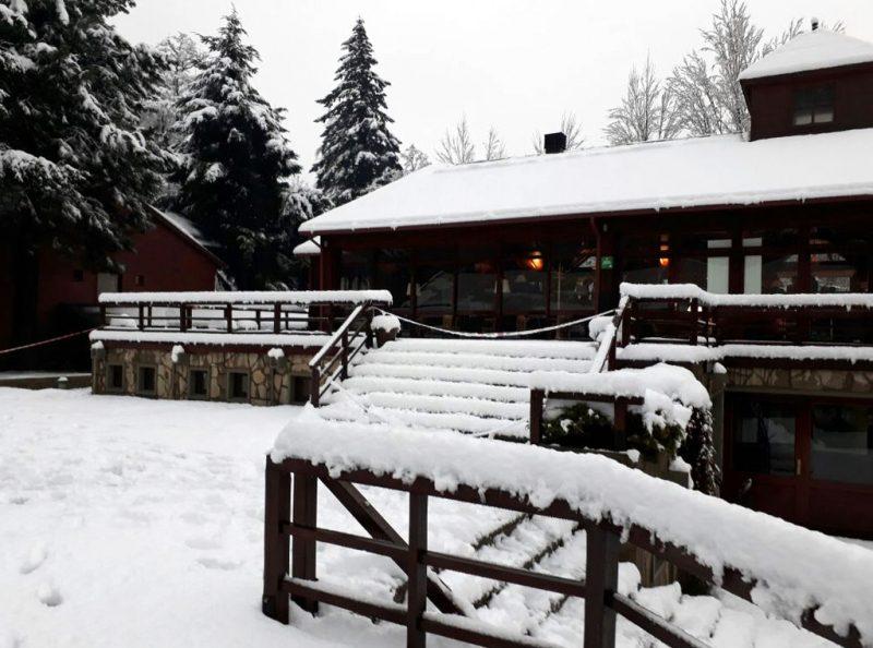 Una nevada histórica