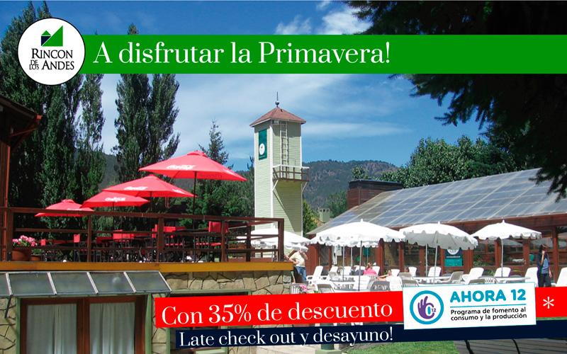 San Martín de los Andes 35% OFF + Late check out y Desayuno!