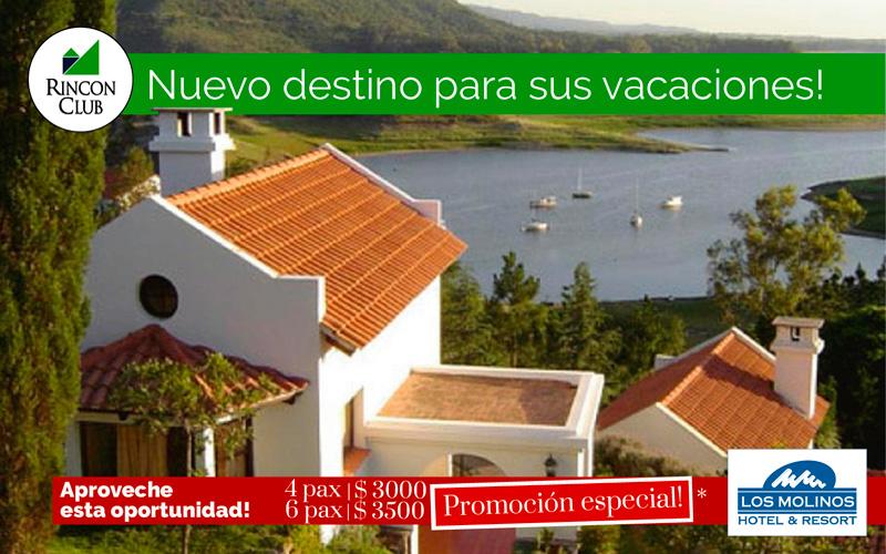 Hotel & Resort Los Molinos: Promo 4 pax + Desayuno $2.999