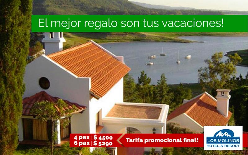 Hotel & Resort Los Molinos: Promo 4 pax $4.500