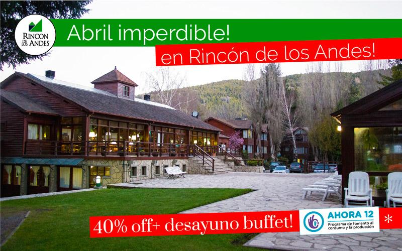 San Martín de los Andes 40% OFF + Desayuno Buffet