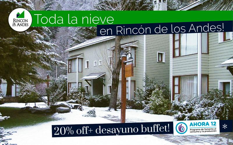 San Martín de los Andes 20% OFF + Desayuno Buffet!