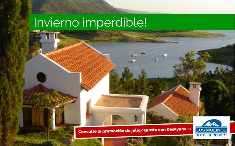Hotel & Resort Los Molinos: Tarifa Promocional Julio/Agosto con Desayuno