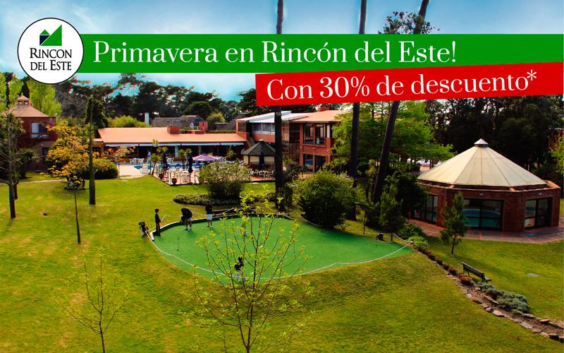 Primavera en Punta del Este 30% OFF!