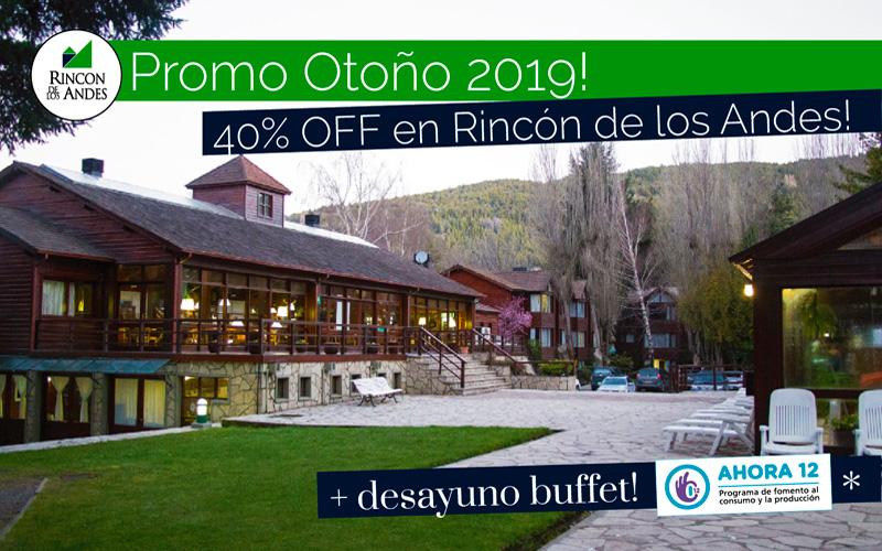 San Martín de los Andes 40% OFF + Desayuno Buffet!