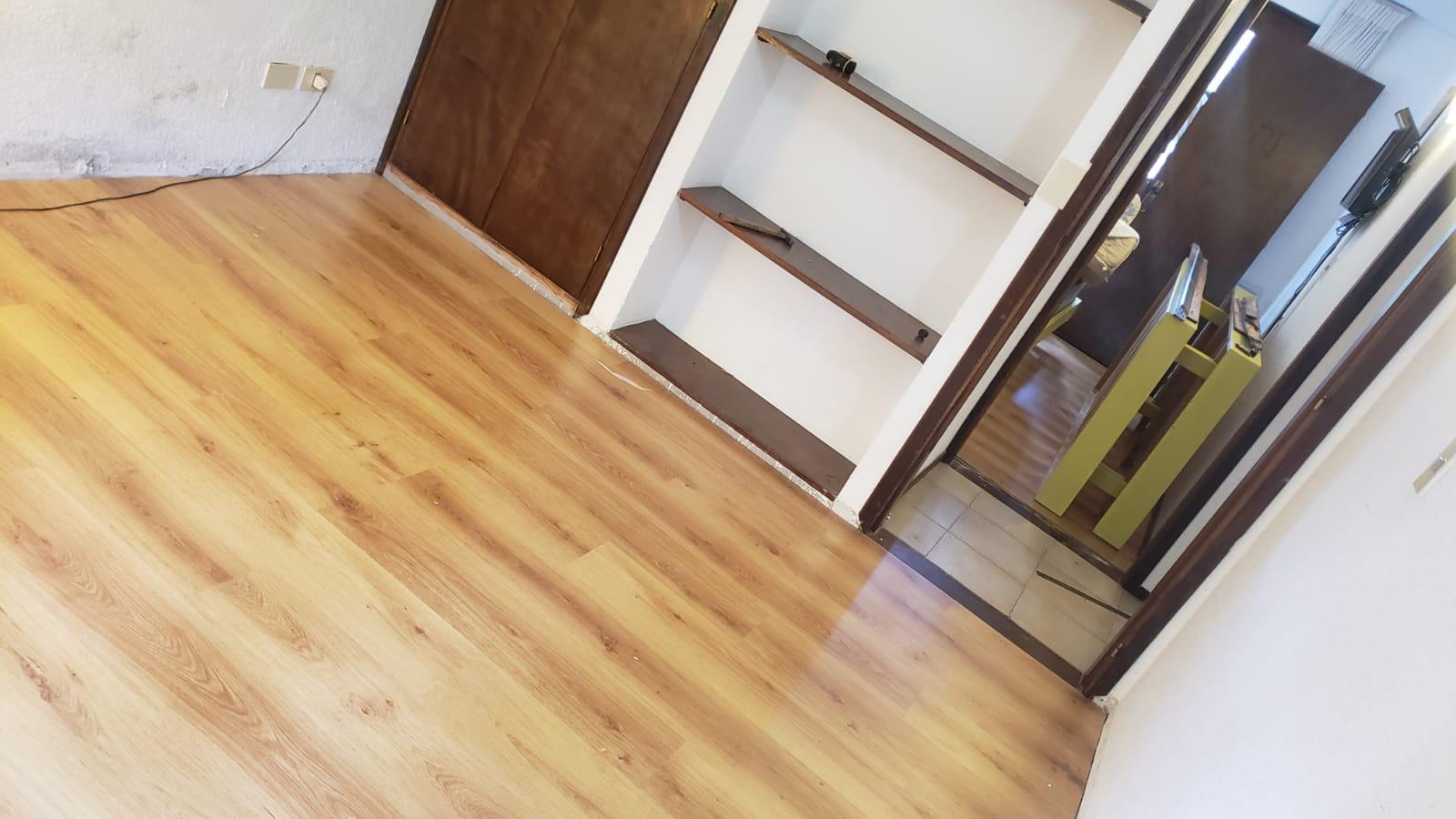 Nuevos pisos flotantes en dormitorios