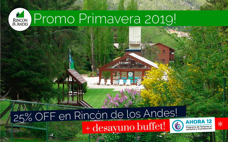 San Martín de los Andes 25% OFF Sept/Oct + Desayuno Buffet!