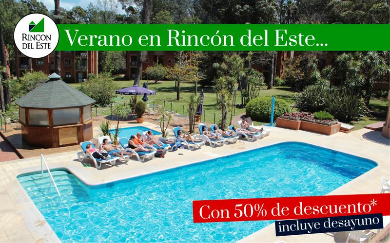 Verano en Punta del Este 50% OFF + Desayuno