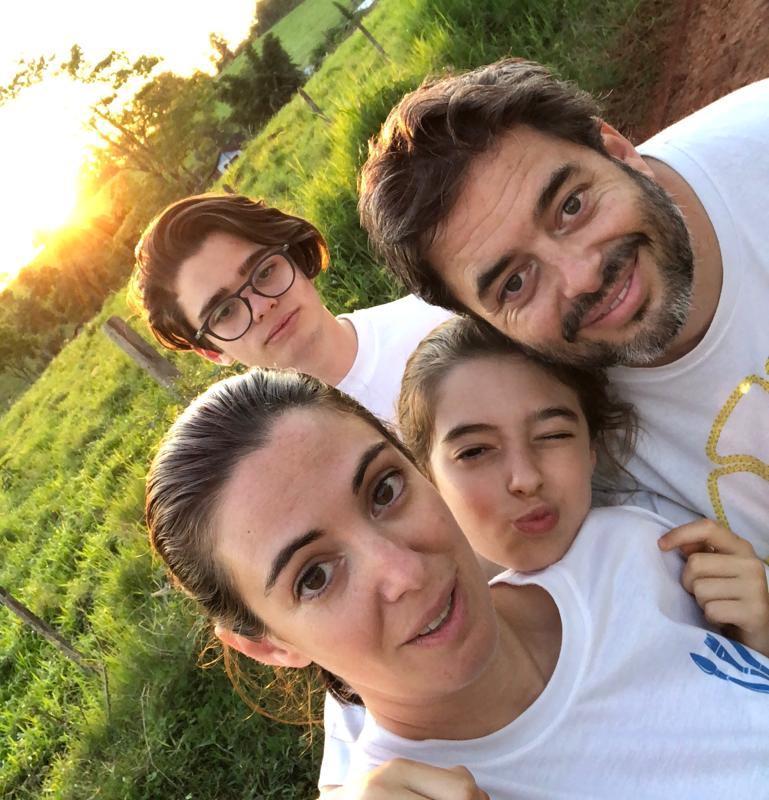 Celina y familia