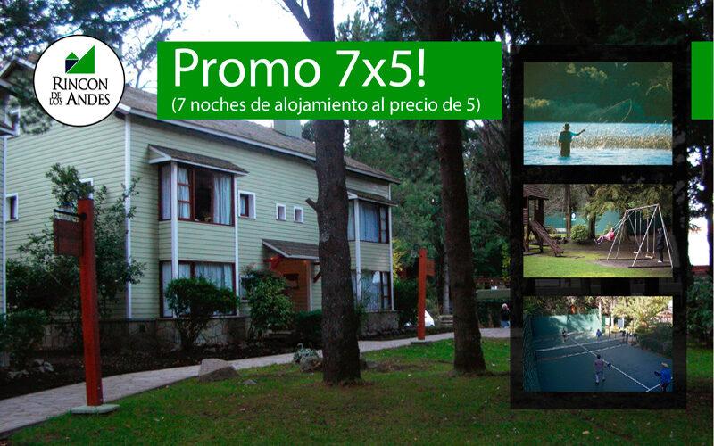 Promo 7×5 en San Martín de los Andes!