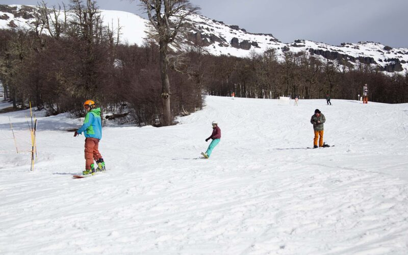 El cerro Chapelco inauguró la temporada de invierno 2021